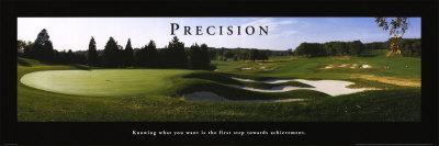 Precision: Golf Plakater af Bruce Curtis