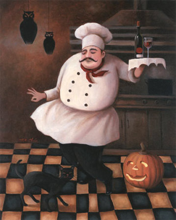 Halloween Chef II Posters by T. C. Chiu