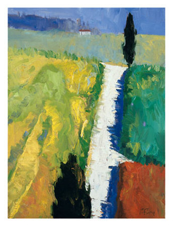 Tuscan Field II Prints by Peter Fiore
