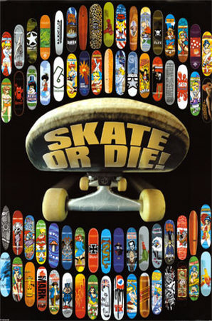 Skate or Die Poster