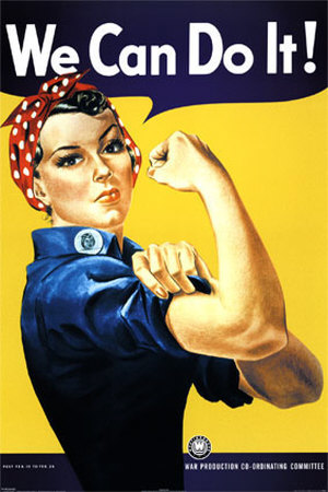 We Can Do It! (Rosie the Riveter) Poster