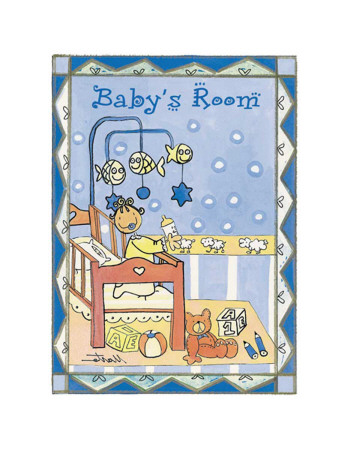 Rooms, Baby's Room Art Print