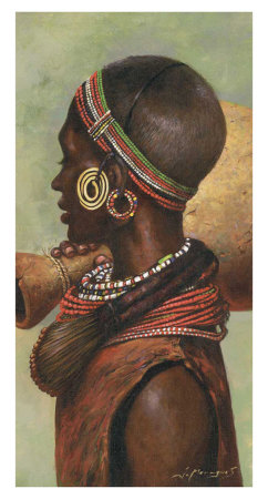 African III Prints by Joaquin Moragues