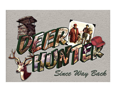 Deer Hunter, Since Way Back Giclee Print by Kate Ward Thacker