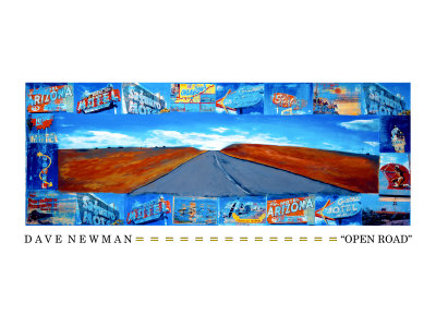 The Open Road Giclee Print by Dave Newman