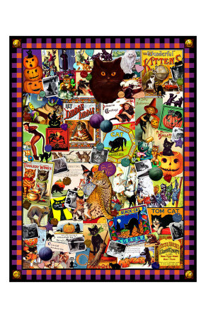 The Kitty Cat Meow Giclee Print by Kate Ward Thacker