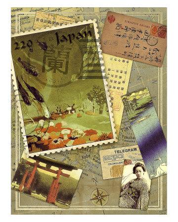 Japan Travels I Giclee Print by Kate Ward Thacker