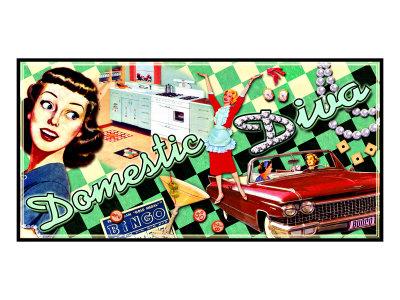 All American Domestic Diva Giclee Print