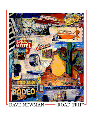 Road Trip Giclee Print by Dave Newman