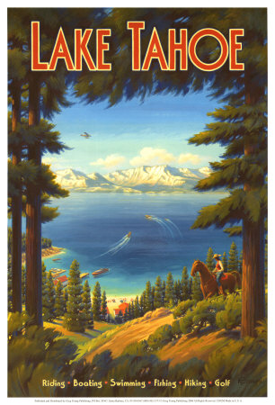 Lake Tahoe Art Print