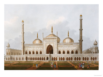 Mosque at Lucknow Premium Giclee Print by Henry Salt