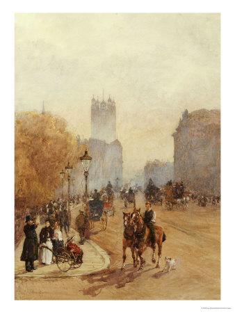Parliament Street Premium Giclee Print by Rose Maynard Barton