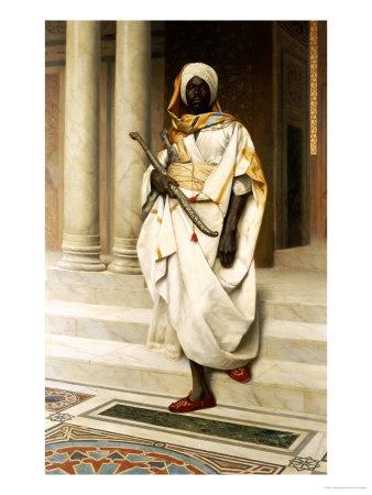 The Emir Premium Giclee Print by Ludwig Deutsch