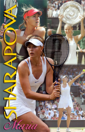 Maria Sharapova Poster