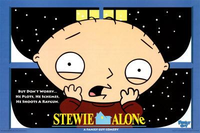 Stewie - Home Alone Photo