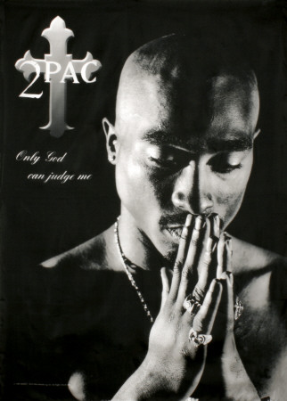 Tupac Shakur only god can judge me album cover