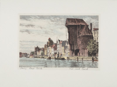 Danzig - Lange Bruecke Collectable Print by  Bruck