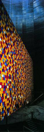 The Wall IV Fotografisk tryk af  Christo