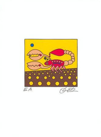 Skorpion Art by Oliver Loetz