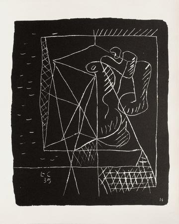 Entre-Deux No. 14 Collectable Print by  Le Corbusier