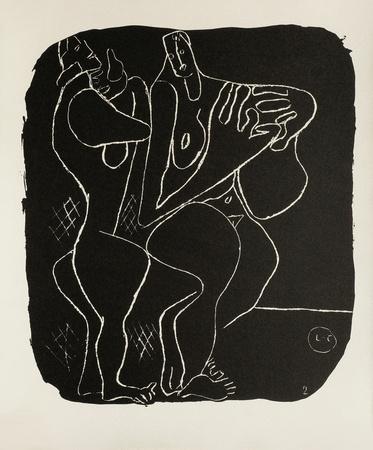 Entre-Deux No. 2 Collectable Print by  Le Corbusier