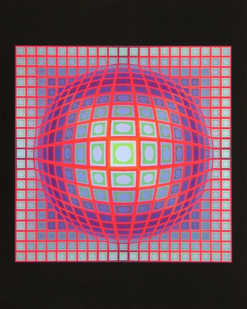 Vega 201, 1968 Posters by Victor Vasarely