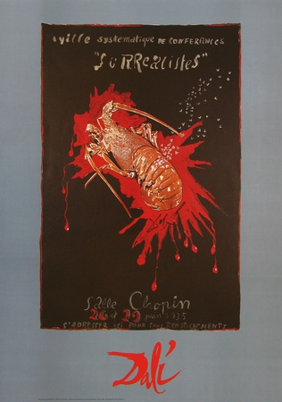 Cancer Posters by Salvador Dalí