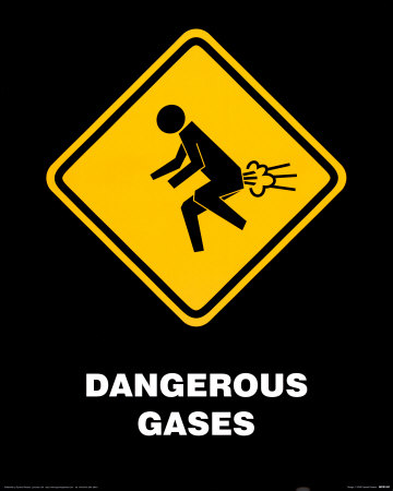 Dangerous Gases Mini Poster