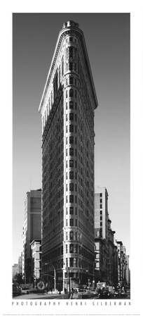 Flatiron Building Poster by Henri Silberman