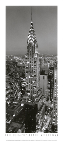 Chrysler Building Art Print