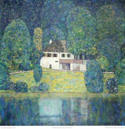 The Restaurant Posters by Gustav Klimt