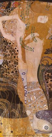 Water Serpents I, c.1907 Prints by Gustav Klimt