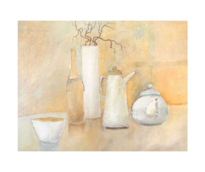 Still Life with Teapot Posters by Heinz Hock