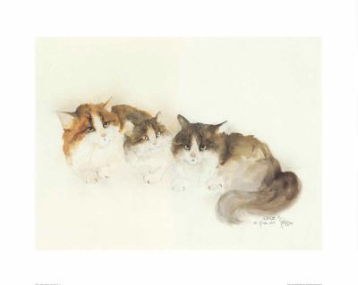 Katzen Posters by Moser Dede