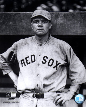Babe Ruth - Red Sox Photo