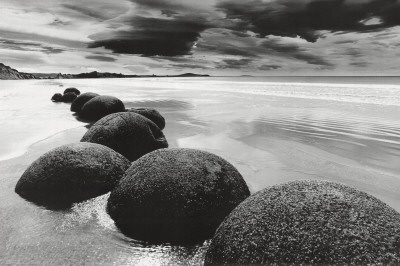 Boulders on the Beach Print