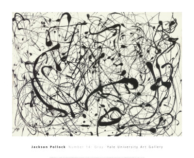 No. 14 (Gray) Prints by Jackson Pollock at AllPosters.