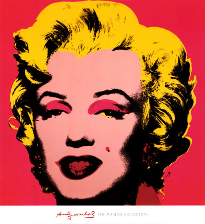 Marilyn Monroe, 1967 (rose fuchsia) Reproduction d'art