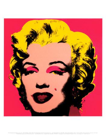 Marilyn Monroe, 1967 (hot pink) Plakater af Andy Warhol