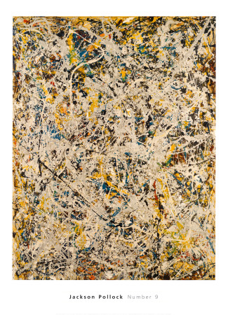 No. 9, 1949 Posters by Jackson Pollock