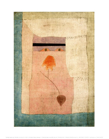 Arabian Song, 1932 Prints by Paul Klee