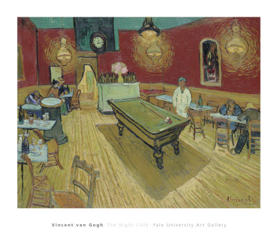 The Night Café in the Place Lamartine in Arles, c.1888 Posters by Vincent van Gogh