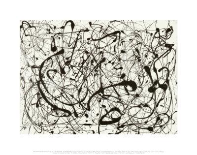 Nr. 14, grå Posters af Jackson Pollock