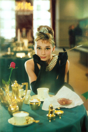 Breakfast At Tiffany's- Audrey Hepburn Poster