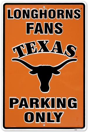 University of Texas Tin Sign