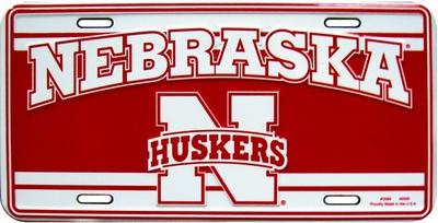 University of Nebraska Tin Sign