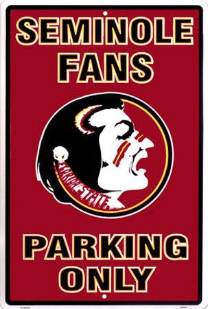 Florida State Tin Sign