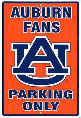 Auburn University Tin Sign