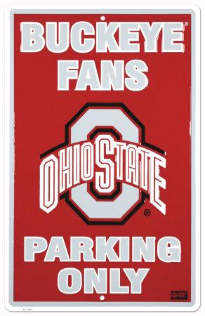 Ohio State Tin Sign