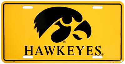 University of Iowa Tin Sign